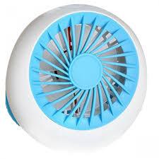 handheld fan rechargeable usb mini handheld fan blue