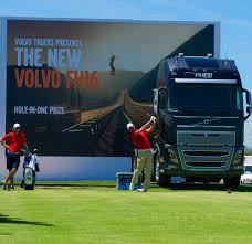 big volvo truck golf champions target volvo u0027s own big five