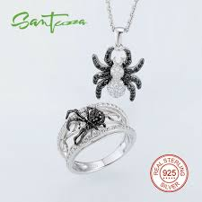 sted jewelry aliexpress buy spider jewelry sets for women black spinel cz