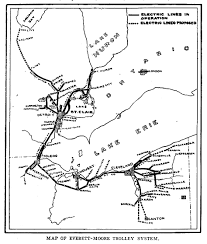 Norwalk Ohio Map by Norwalk Lake Shore Rail Maps