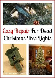 how to repair or fix a blown fuse on your christmas tree lights
