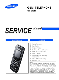 samsung e1050 service manual final anyservice electrostatic