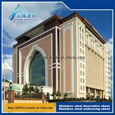Metal Curtain Wall China Stainless Steel Decorative Sheet Metal Curtain Wall