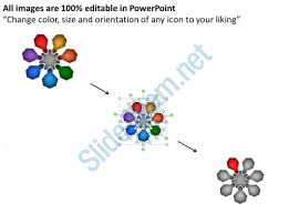 circular process of decision making powerpoint templates ppt