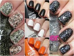 the polishaholic sally hansen halloween themed nail polish