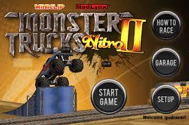 miniclip monster truck nitro 2 monster trucks nitro ii simultaneously launches online at miniclip