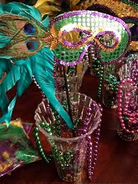 cheap mardi gras mardi gras centerpieces emily s enchantments