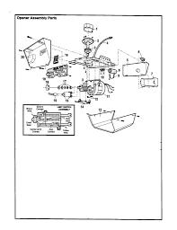 Parts Of Garage Door by Garage Doors Craftsman Garage Door Opener 53978srt User Guide