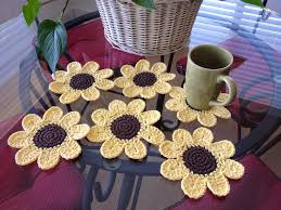 free easy crochet home decor pattern three crochet potholder