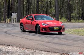 red subaru brz 2017 subaru brz review video performancedrive