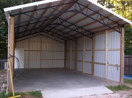 Barn Truss Shop Building Chicken Style
