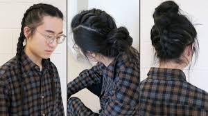 braid styles men long hairstyles youtube