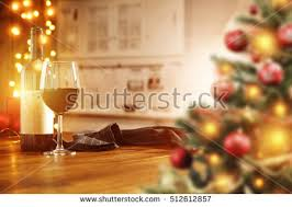 Christmas Wine Christmas Glass Red Trees Wine Stock Images Royalty Free Images