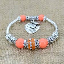 love hearts charm bracelet images Love heart charm bracelet spiritboho jpg