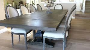 diy pedestal trestle dining table pedestal trestle dining table