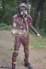 Video Game Halloween Costumes Scarecrow Batman Arkham Video Game Halloween Costume