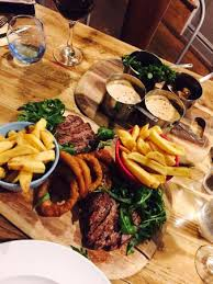 chateaubriand cuisine chateaubriand with accompaniments picture of the owl tamworth