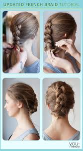 tuck in hairstyles french braid cute not tacky youbeauty com