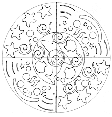 dolphin mandala domandalas coloring pages for adults justcolor