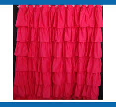 Pink Gingham Shower Curtain Green Ruffle Shower Curtain Urevoo Com Distinctive Pink Tiered