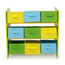 meuble rangement chambre bébé meuble de rangement étagère jouet panier chambre enfant motif jungle