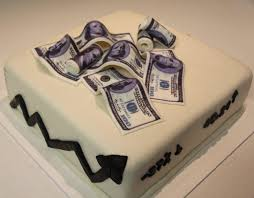 money cake designs i the stock market cakecentral