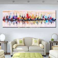 fashion modern living room decorative oil painting handpainted