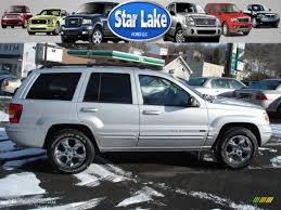 2004 bright silver metallic jeep grand cherokee limited 4x4