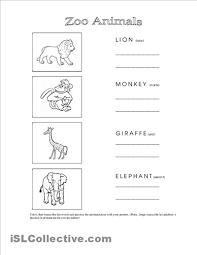 free worksheets animal worksheet for kindergarten free math