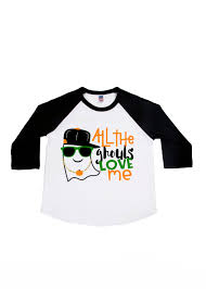 Toddler Boy Halloween T Shirts All The Ghouls Love Me Halloween Shirts Boys U0027 Shirts