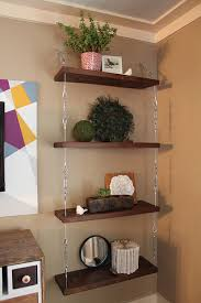 Things To Put On Your Work Desk How To Make Suspended Shelves With Steel Cable And Turnbuckles 7