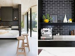 backsplash black tile kitchen backsplash best contemporary the difference grout color can make to your tiles emily henderson black and white tile