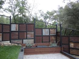 appealing corrugated metal privacy fence 80 on house remodel ideas