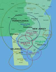 Map Of New Jersey And Pennsylvania by Welcome Njn Listeners Radio Whyy