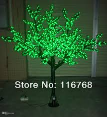 2018 2m artificial led trees green cherry blossom tree lights for