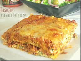 cuisine recettes faciles lasagne à la bolognaise recette facile le cuisine de samar