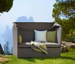hideaway sofa garden sofas from cane line architonic