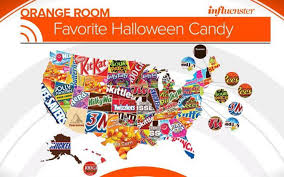 halloween candy bag what is the most popular halloween candy in your state aol
