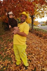 Family Halloween Costume With Baby by Curious George And The Man With The Yellow Hat Baby Family