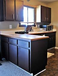 Brown Painted Kitchen Cabinets by Contemporary Dark Brown Painted Kitchen Cabinets Home