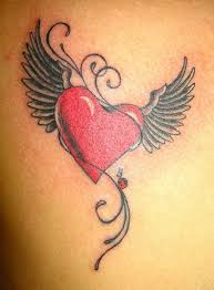 the 25 best heart wings tattoo ideas on pinterest heart wings