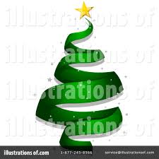 christmas tree clipart 231760 illustration by bnp design studio