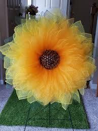 sunflower wreath 10 dollar tree diy fall wreath ideas debbiedoos