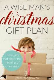 a wise man u0027s christmas gift plan