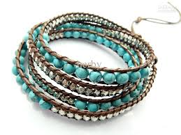 beaded bracelet leather images Bead bracelets espar denen jpg