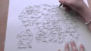 Elder Scrolls World Map by The Elder Scrolls Map Of Tamriel Time Lapse Youtube