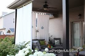 Patio Doors Uk by Outdoor Curtains For Patio Uk Originalviews Traditional Porch
