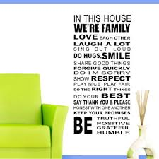 Home Decor Quotes by Online Get Cheap Wall Stickers Home Decor Quotes Love House Home