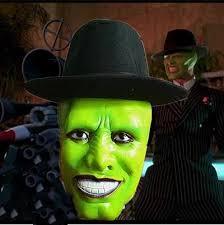 Cross Dressing Halloween Costume Halloween Mask Masquerade Mask Jim Carrey Nature