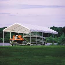 Enclosed Car Canopy by King Canopy 10 X 20 Ft Hercules Enclosed Canopy Carport Hayneedle